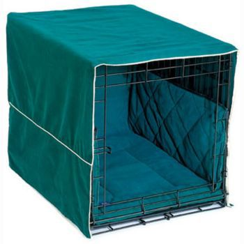 Classic Cratewear 3PC Bed Set Hunter Green 24 Inch