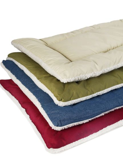 classic sleep-ezz dog bed 30inx20in khaki on lovemypets.com