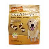 Nylabone Enhanced Rawhide Braid Dog Treat
