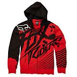 Fresh Kill Zip Front Fleece Boys Hoody