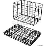 WALD 582BL Folding Rear Basket