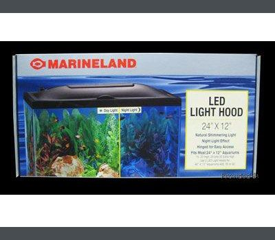 Marineland LED Aquarium Hood 24x12