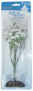 Aqua Bloom Aquarium Plant Daisy-White 9in