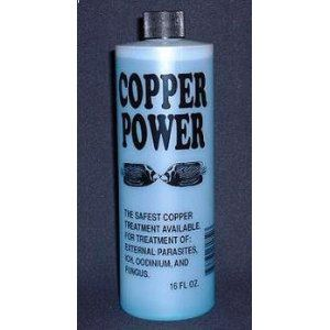Power Blue Treatment For Saltwater 16 Ounce