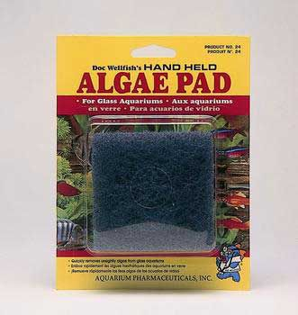 API Algae Scraper Pads Glass Aquariums