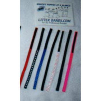 Litterbands ID Bands- 8 pack Toy 5-8 Inch