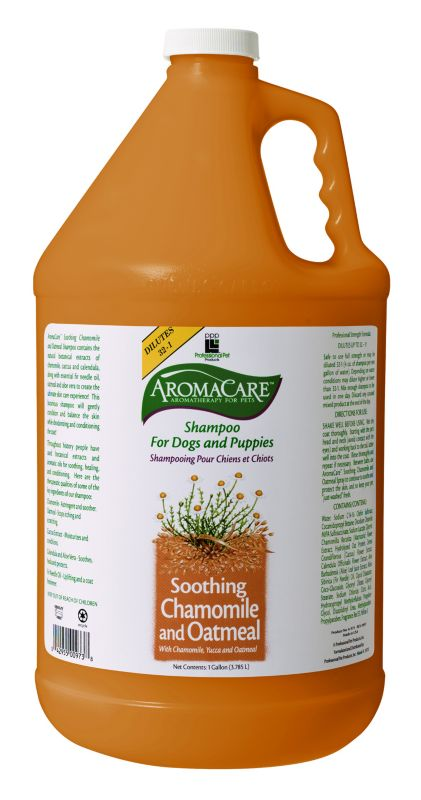 AromaCare Chamomile Dog Shampoo 1 Gallon