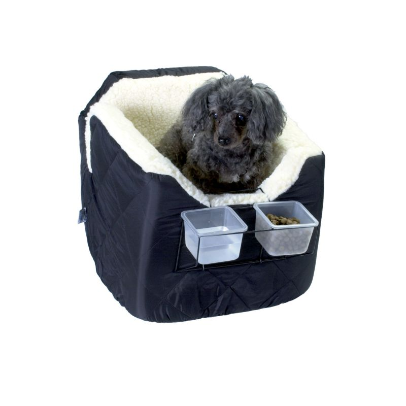 Lookout 1 Pet Car Seat Medium Grey Vinyl