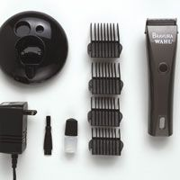 Wahl Bravura Cordless Clipper Kit Red