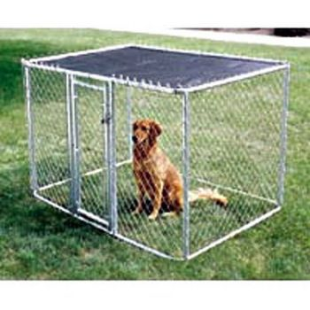 MidWest K-9 Chain Link Dog Kennel 6ftX4ftX4ft