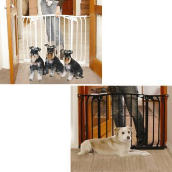 Bindaboo Hallway Security Pet Gate Black