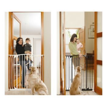 Bindaboo Extra Tall Hallway Security Gate Black