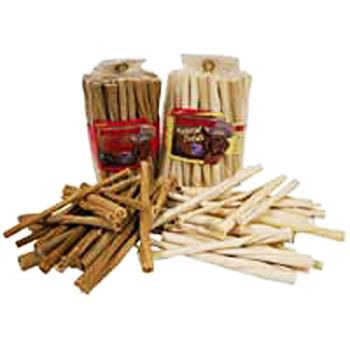 BeefEaters Twist Sticks 75 Count White