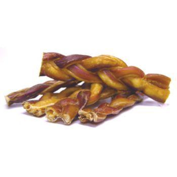 Braided Bully Sticks Case 7In -30 CT