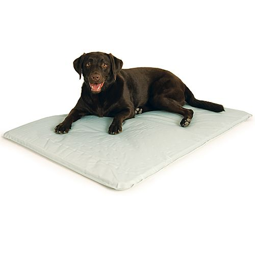 Cool Bed 3 White Cooling Pet Bed Medium-22 In x 32