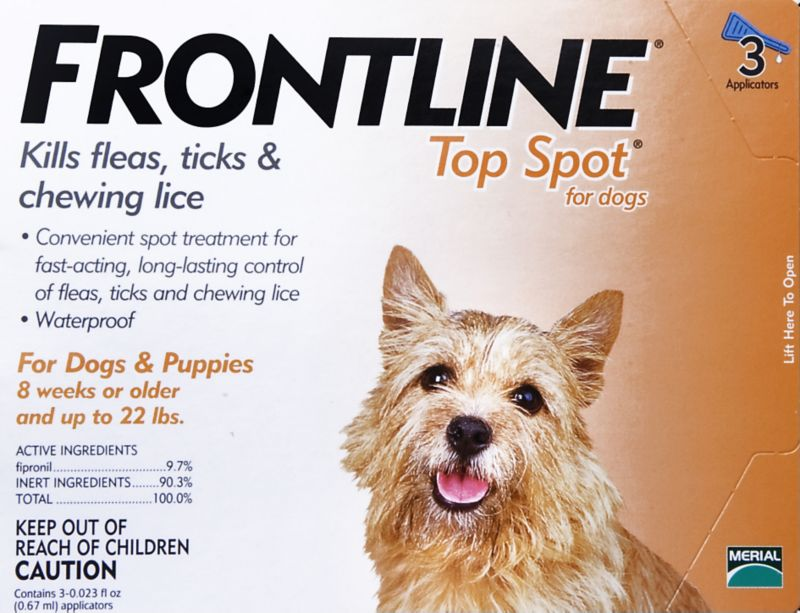 Frontline for Dogs 3 Months up to 22 lbs