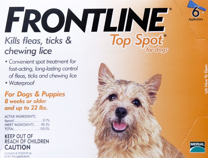 Frontline for Dogs 6 Months Up to 22Lb