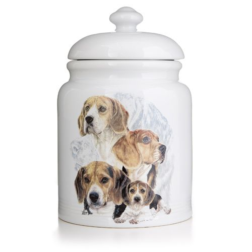 Ceramic Treat Jar Boxer