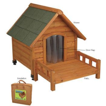 Premium Plus Aframe Dog House 30w X 28d X 30h