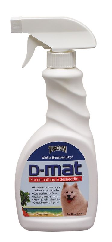 Tropiclean D-Mat Spray for Dogs