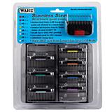Wahl Stainless Steel Clipper Guide Combs Set of 8