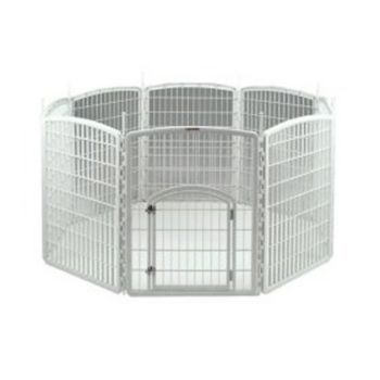 Iris Plastic Pet Exercise Pen 63 X 63 X 34