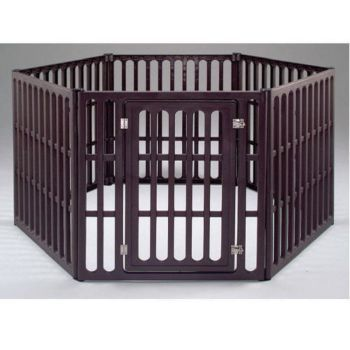Iris Large Dog Exercise Pen 75l X 63w X 39h