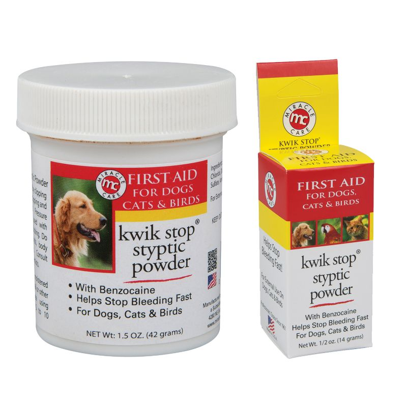 Kwik Stop Styptic Powder for Pets 6 OZ