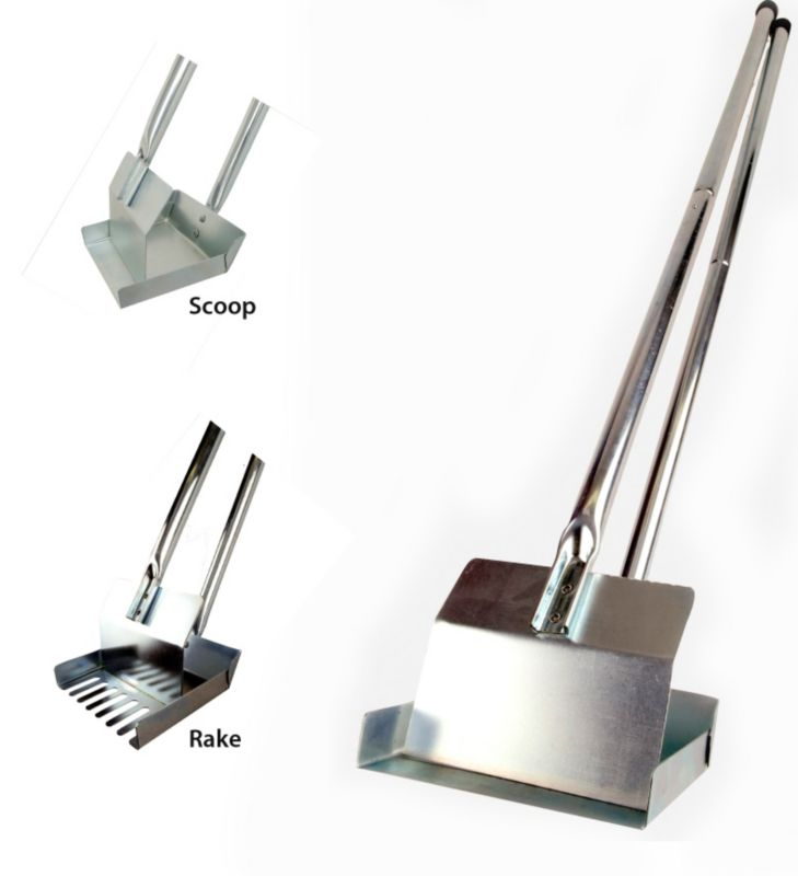 Therapet Sanitary Scoop Rake