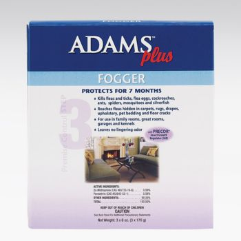 Adams Plus Room Fogger 6 OZ 3 Pack Best Price
