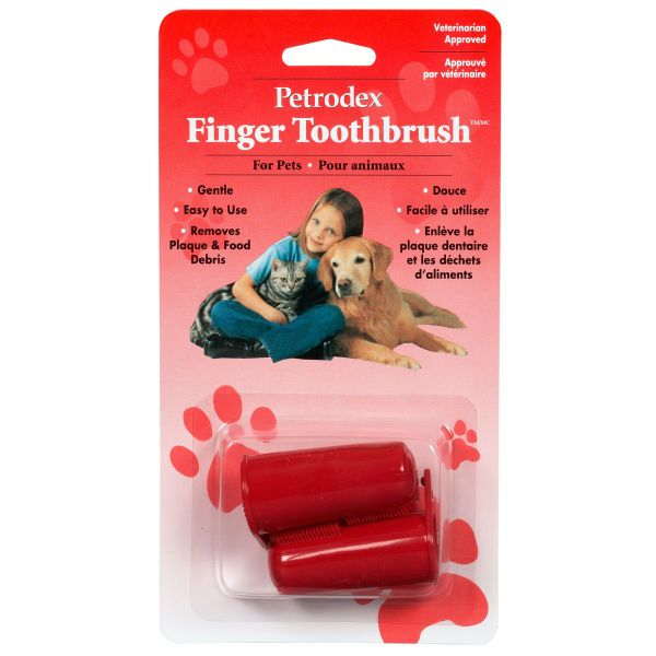 Pet Dental Finger Toothbrush - Set of 2