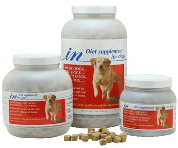 In Diet Dog Supplement - Red Label 1.5 Pounds