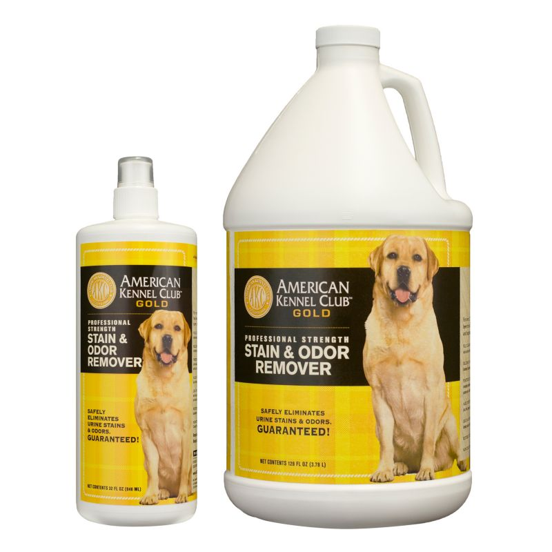 AKC Gold Stain and Odor Remover 128 oz