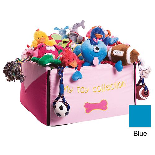 My Toy Collection Toybox 18l X 18w X 12h Blue