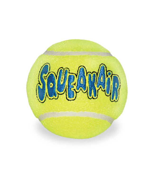 Air Kong Medium Squeaker Tennis Ball 6 Pack