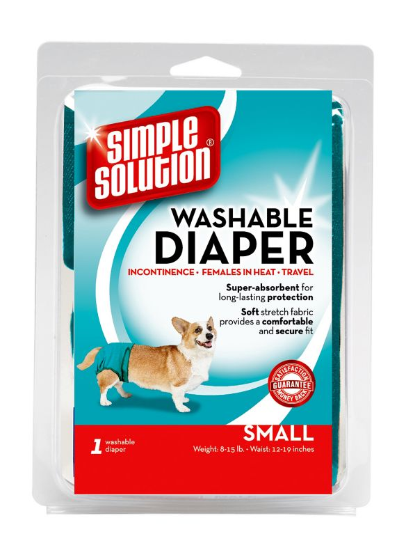 Simple Solution Washable Dog Diaper LG 10ct Pads