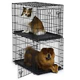 MidWest Solutions Stackable Folding Dog Crate