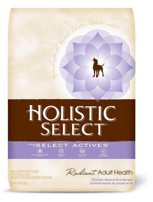 Holistic Select Radiant Chicken Dog Food 6.6 lb