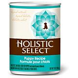 Holistic Select Puppy Canned Dog Food Case