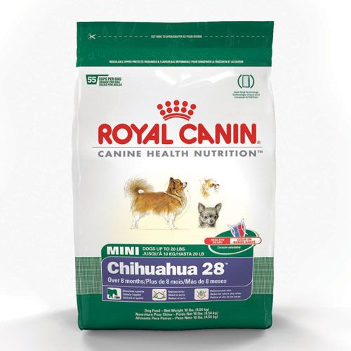 10 Lb bag Royal Canin Chihuaha Food