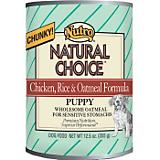 Nutro Natural Choice Chkn/Rice/Oat Pup 12.5oz 12pk