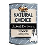 Nutro Natural ChoiceChkn/Rice Senior 12.5oz 12pk