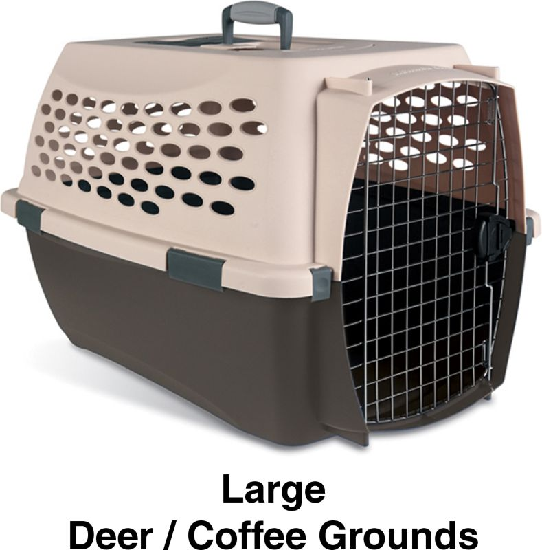 Petmate Fashion Kennel Cab Plastic Dog Crate Int