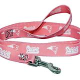 New England Patriots Pink Dog Leash