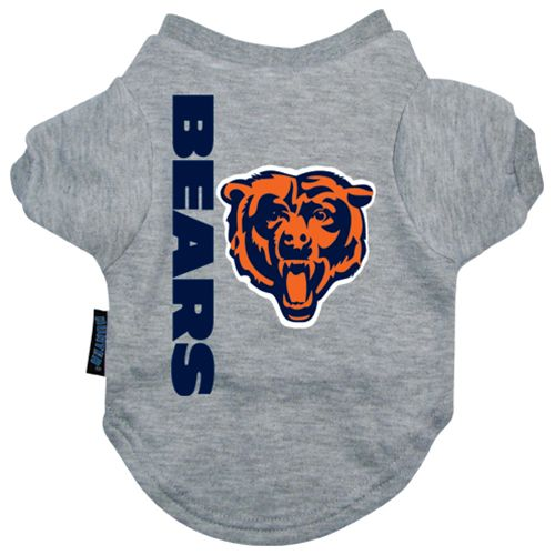 Chicago Bears Dog Tee Shirt Large