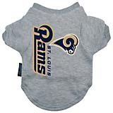 St Louis Rams Dog Tee Shirt