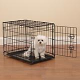 Easy Crate Black Dog Crate