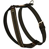 Petego Padded Calfskin Dog Harness