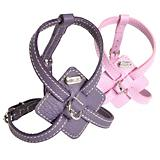 Petego Flat Calfskin Dog Harness