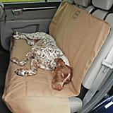 Petego Dog Front Car Seat Protector Tan